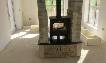 fireplace stone surrounds